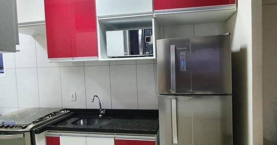 Apartamento Com 2 Dormitórios Para Alugar, 50 M² Por R$ 1.050,00/mês - Jardim Europa - Vargem Grande Paulista/sp - Ap6104