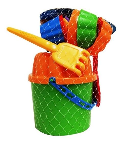 Juguete Balde De Accesorios Para Playa Usual Brinquedos