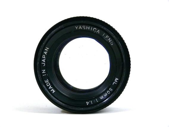 Objetiva Yashica Ml 50mm 1:1.4