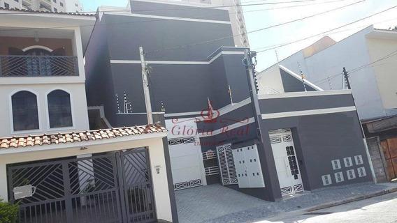 Sobrado Com 2 Dormitórios À Venda, 77 M² Por R$ 345.000 - Parque Mandaqui - São Paulo/sp - So0179