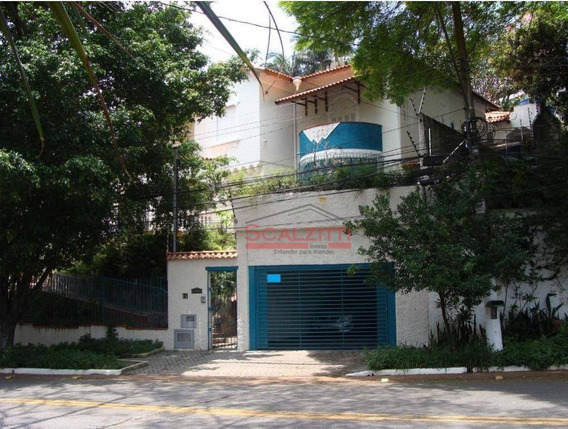 Casa Com 4 Dormitórios À Venda, 330 M² Por R$ 3.500.000,00 - Pacaembu - São Paulo/sp - Ca0261