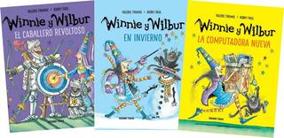* Combo 3 Libros Bruja Winnie Y Wilbur * Bolsa De Regalo