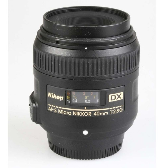 Objetiva Nikon Af-s 40mm F2.8g Micro Dx