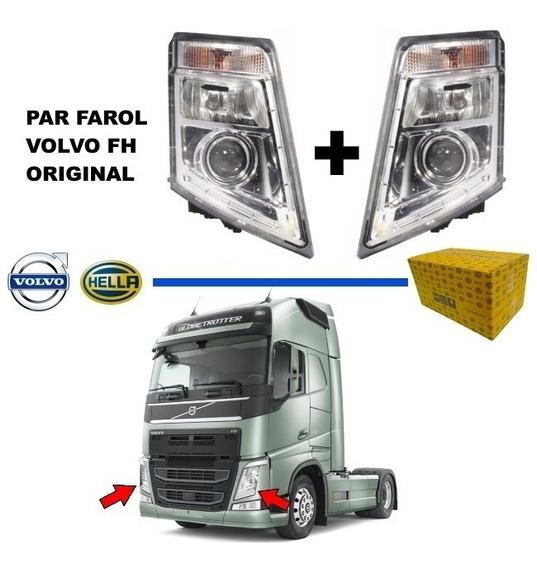 Par Farol Fh 13 2010 2011 2012 2013 Volvo Original - Oferta
