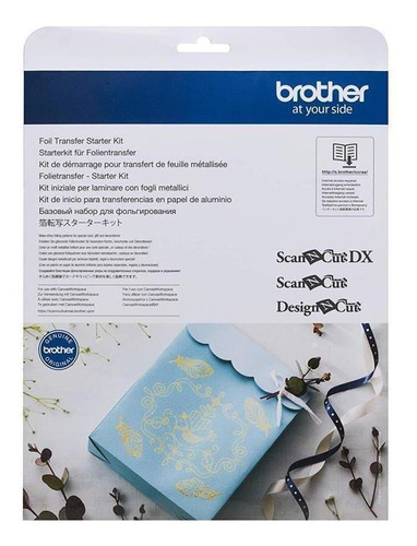 Imagen 1 de 2 de Kit De Inicio Para Transferencias En Papel De Aluminio