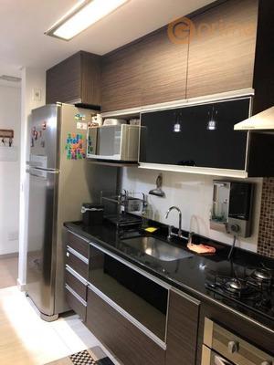 Lindo Apto Vila Endres - 65 M² - 2 Vagas Andar Alto E Vista Livre - Ap0141