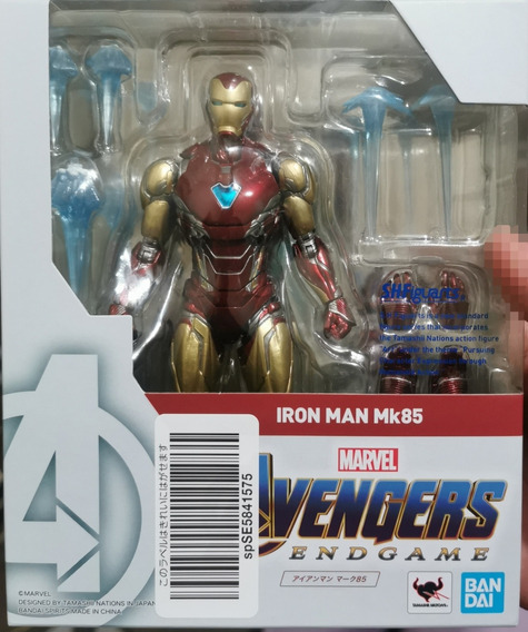 Iron Man Mark85 Bandai Sh Figuarts Original Pronta Entrega