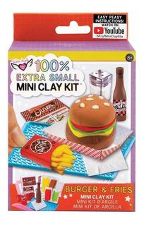 Mini Clay Arcilla Hamburguesa