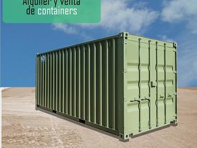 Containers Pañol Obrador Deposito De Herramientas Alquiler