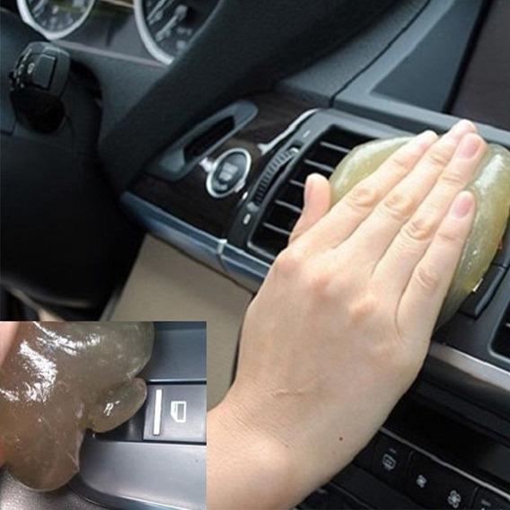 Esponja Gel Limpa Poeira Para Carros Teclados Celulares Etc