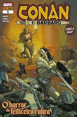 Conan O Bárbaro Nº 01 Panini Comics Marvel Aaron Asrar