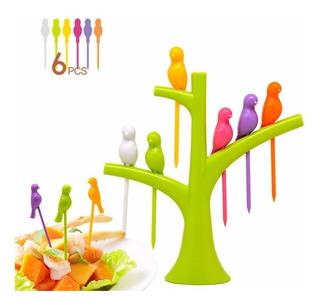 Palillos Para Comida Tenedores De Fruta Decoracion Cocina