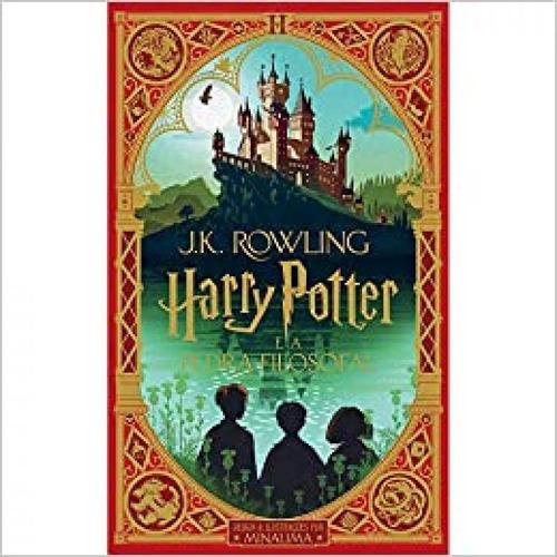 Harry Potter E A Pedra Filosofal-ilus Por Minalima