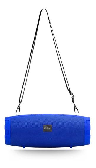 Caixa De Som 50w Soundbox Two Com Bateria Frahm Azul Full
