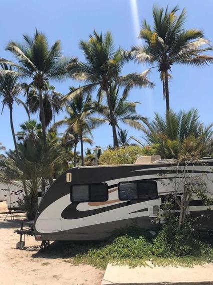 Casa Mazatlan Rodante (rv) Frente A Playa Cerritos Mzt