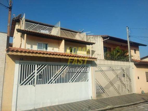 Sobrado Com 4 Dormitórios À Venda, 250 M² Por R$ 750.000,00 - Jardim Santa Clara - Guarulhos/sp - So0660