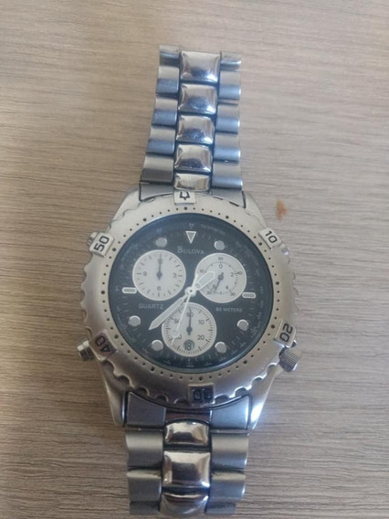 Relógio Masculino Bulova Semi-novo