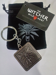 Chaveiro The Witcher 3 Wild Hunt Lobo Bronze Barato