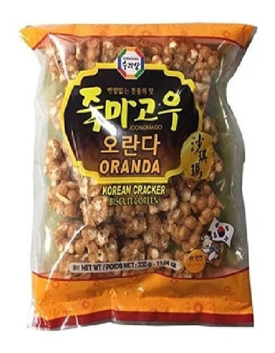 Imagen 1 de 1 de Surasang Korean  Cracker  Oranda 330 G
