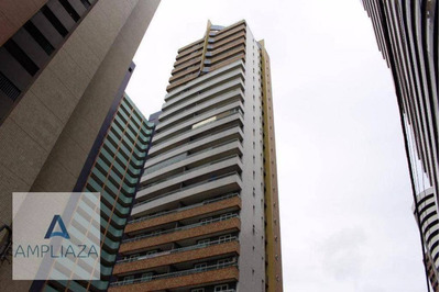 Apartamento Com 3 Dormitórios À Venda, 160 M² Por R$ 1.650.000 - Meireles - Fortaleza/ce - Ap0671