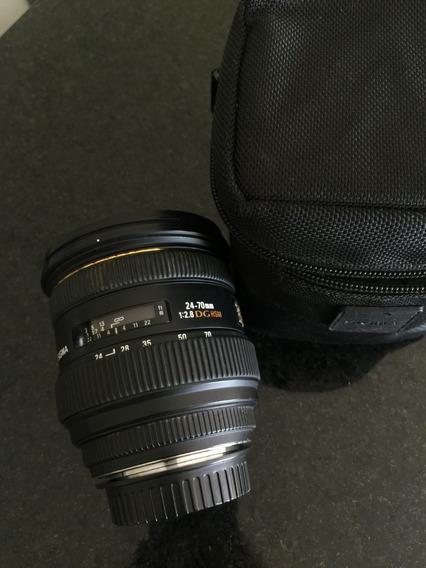 Lente Sigma 24-70 2.8 Para Canon