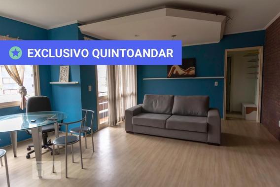 Apartamento No 2º Andar Mobiliado Com 1 Dormitório E 1 Garagem - Id: 892964785 - 264785