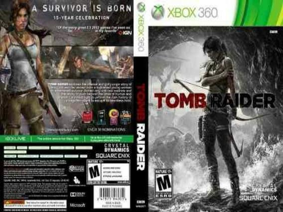 Tomb Raider 2013 Xbox360 Midia Digital
