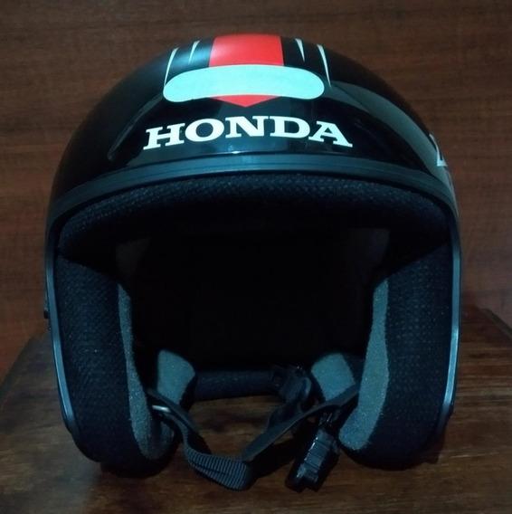 Capacete Moto Honda Tamanho 58