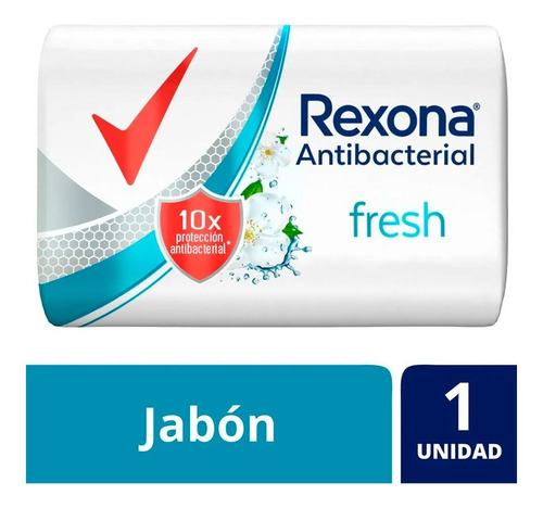 Rexona Jabon En Barra Antibacterial Fresh X 90 Gr