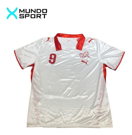 Camiseta De Suiza Suplente Puma Talle L 9 Frei Nueva