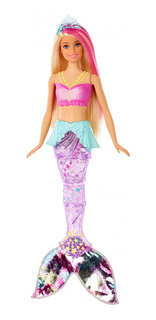 Barbie Sirena Con Luz Original Mattel Envío Inmediato Gratis