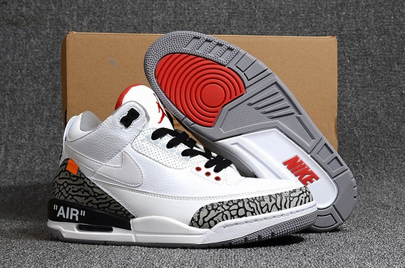Tênis Nike Air Jordan 3 Retro X Off White(original Na Caixa)