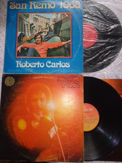 2 Lps Roberto Carlos - 1968-77