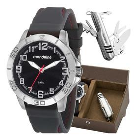 Relógio Mondaine Masculino 99213g0mvni1k2 Com Canivete