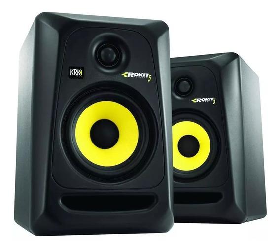 Monitores Ativo Krk Rokit Rp5 G3 - Par/novo 110v Ou 220v P+e