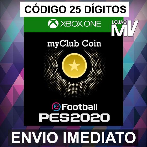 Pes 2020 1050 Myclub Coin Codigo De 25 Digitos Xbox One