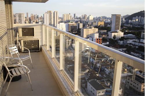 Imagem 1 de 26 de 01 Dormitório, 01 Sala, 01 Cozinha, 01 Banheiro, 01 Sacada, 01 Vaga - Santos - Reo540295