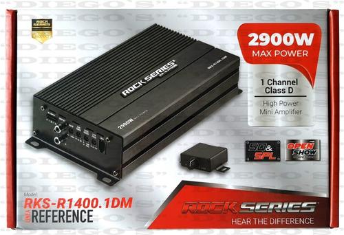 Imagen 1 de 9 de Amplificador Rock Series Rks-r1400.1dm 2900w 1 Canal 1 Ohm
