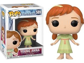 Funko Pop! 589 Young Anna Frozen 2 Pelicula - Candos