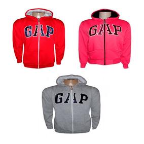 Kit 25 Casaco Blusa Frio Moletom Feminino Gap Ziper Promoção