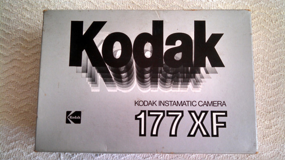 Kodak Instamatic 177xf Camera