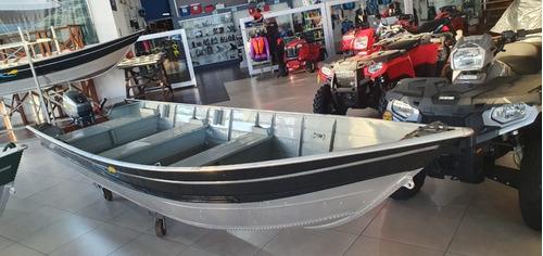 Barco De Pesca Alumínio Pety Com Motor Yamaha 15 Hp 0km