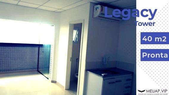 Sala Comercial Para Alugar Em Santos - Legacy Tower - Lo244 - 68078984