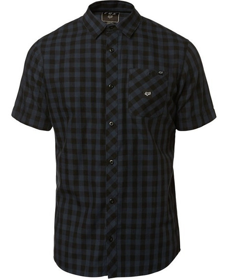 Camisa Fox Troubled Mind Ss Casual All Road Bicicleta Moto