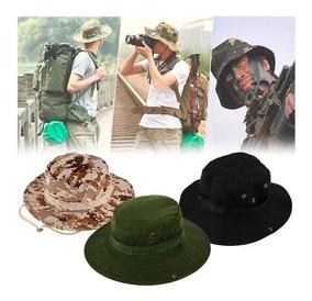 Sombrero Boonie Militar Camping Pavas Unisex Colores Varios