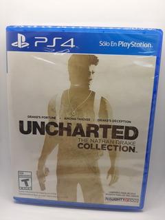 Uncharted The Nathan Drake Collection Ps4 Nuevo Envio Gratis