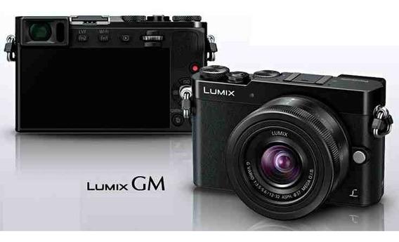 Câmera Panasonic Lumix Dmc Gm5 Lente Vario Mega Ois 12-32mm