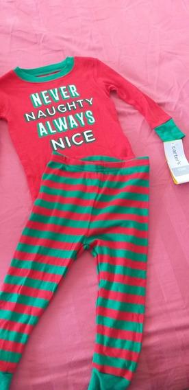 Pijama Carters Navideña Bebé Niño