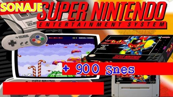 900 Jogos Roms De Super Nintendo Para Computador + Emulador