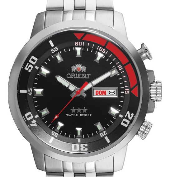 Relógio Orient Masculino Automático 469ss058 P1sx Prateado
